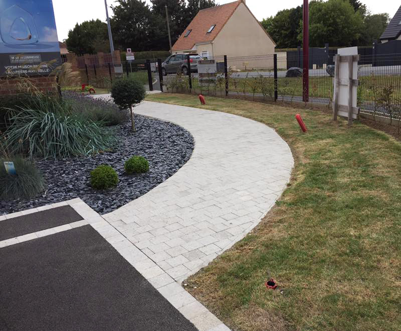 Am nagement paysager ext rieur douai lens cr ation de for Creation jardin exterieur