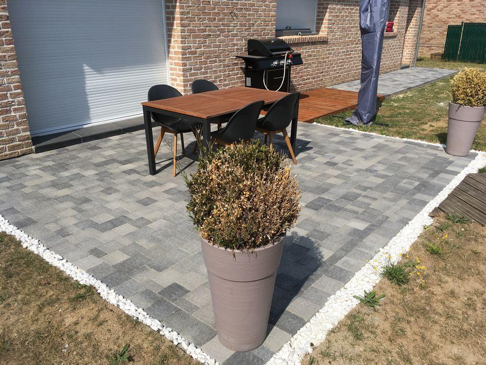 Création de terrasse à Cambrai