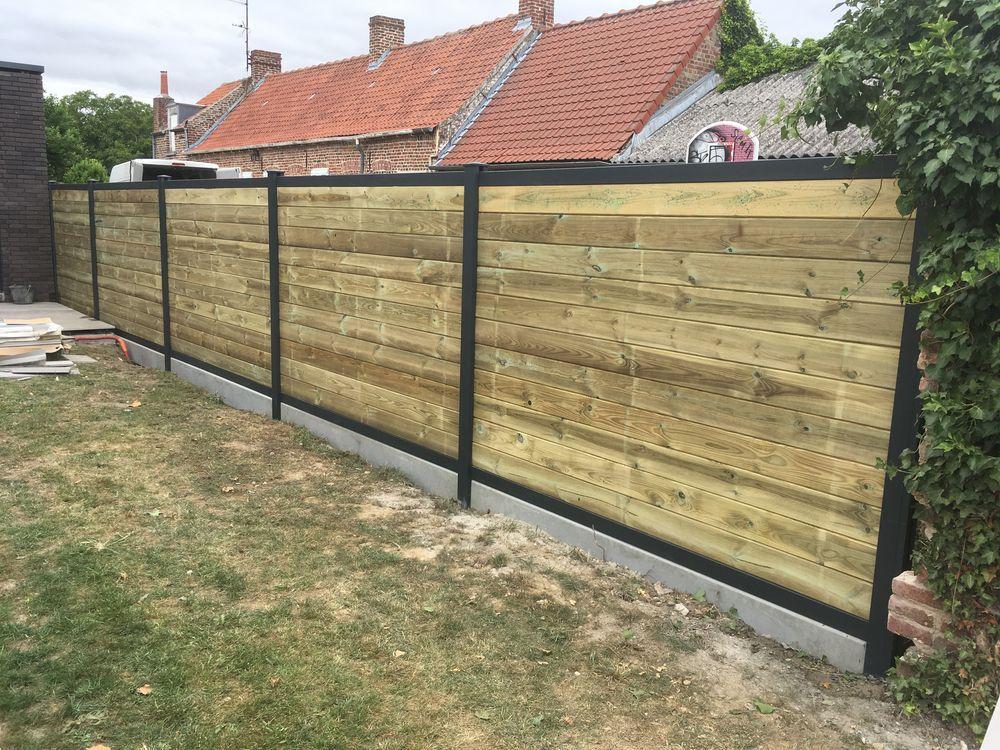 installation de clôture à Douai