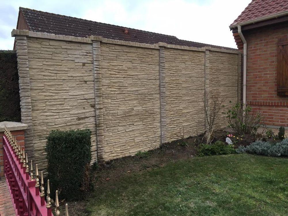 Installation de clôture à Tortequesne