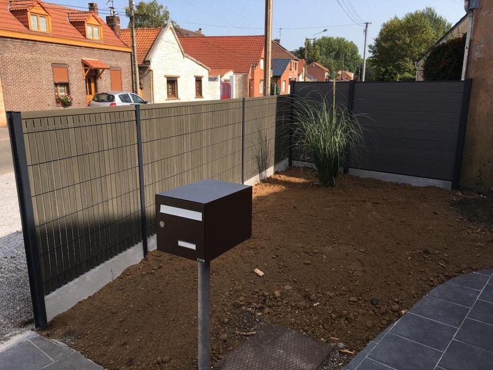 Installation de clôture à Cambrai