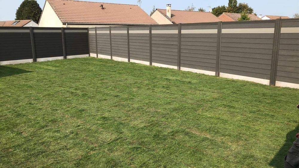 Pose clôture Douai